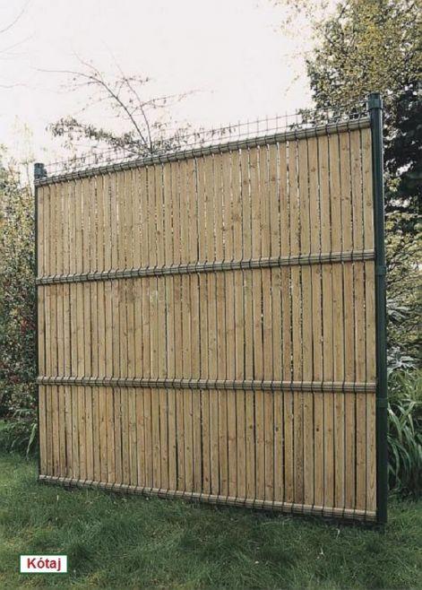 Olcsó kerítés házilag